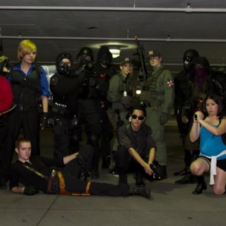Oni-con X – Resident Evil mini-shoot